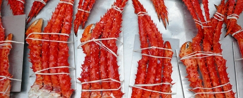 Fresh Cooked King Crab Cluster